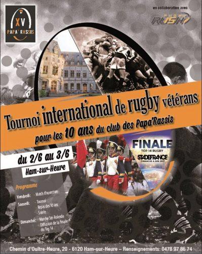 Tournoi international de Rugby vétérans