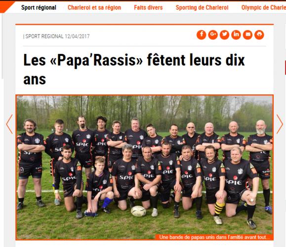 """Les """"Papa'Rassis"""" fêtent leurs dix ans"""